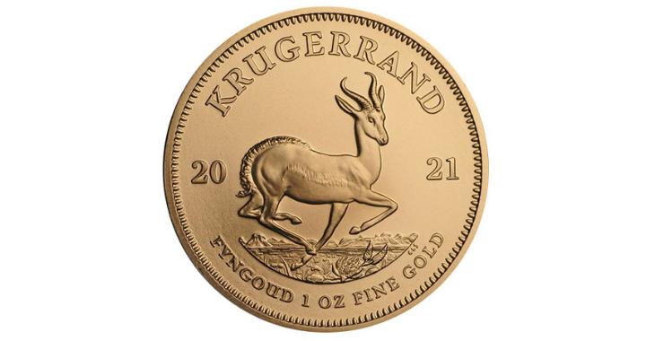 South Africa 1 oz Gold Krugerrand Coin