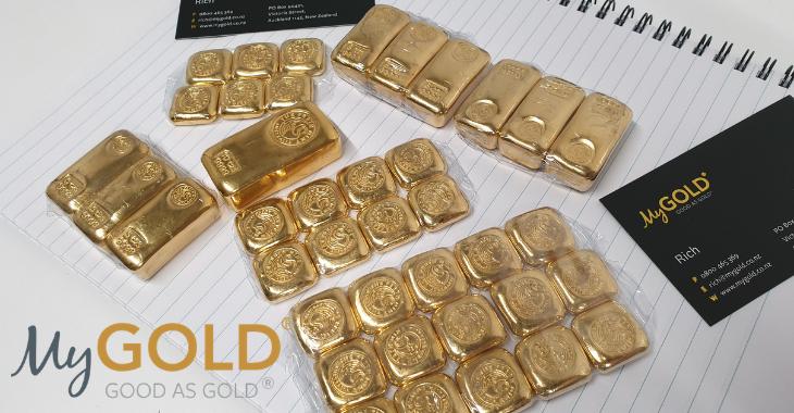 1oz Perth Mint Gold Cast Bar