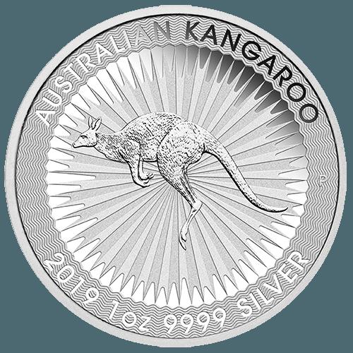 1oz Perth Mint Silver Kangaroo New Zealand