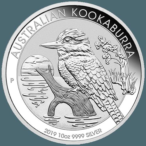10oz Perth Mint Silver Kookaburra New Zealand