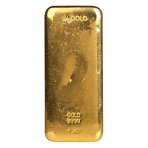 1kg Gold Bullion Bar New Zealand