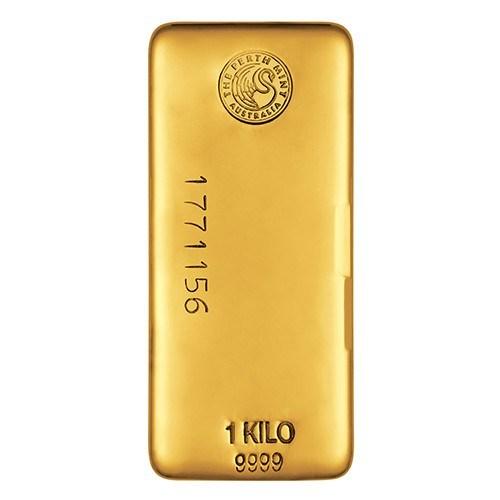 1kg Perth Mint Gold Bullion Bar New Zealand