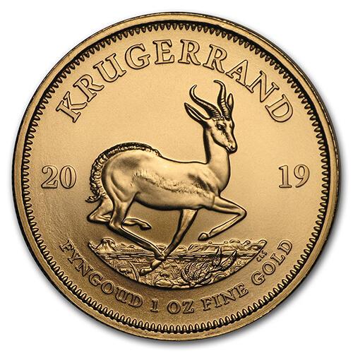 1oz Gold Krugerrand New Zealand