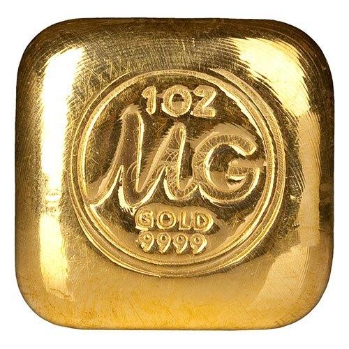 1oz Gold Bullion Bar New Zealand