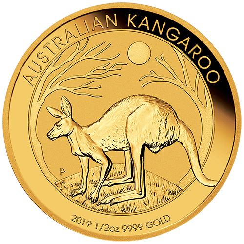 1/2oz Perth Mint Gold Kangaroo New Zealand