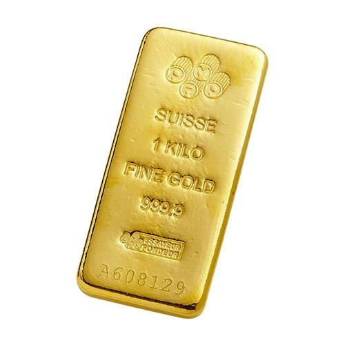 1kg Pamp Suisse Gold Cast Bar Mygold